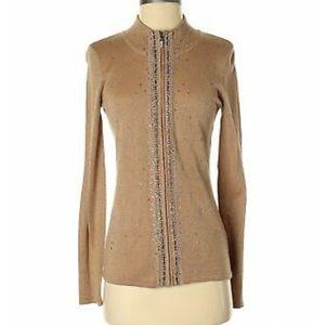 Sweaters - NWT Fontana ✨🐑Women Gold Cardigan S